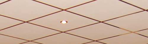 Suspended Grid Drop Ceiling Basement