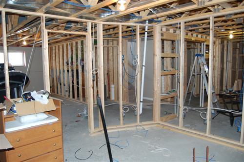 evolution of home wiring wiring diagram of home network bilevel house basement development